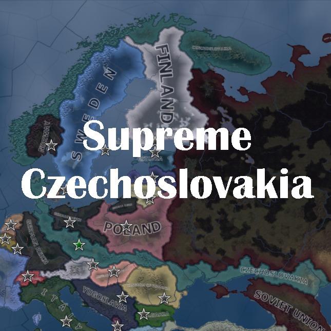 HoI4 [Mod] Supreme Czechoslovakia 最高のチェコスロバキア!