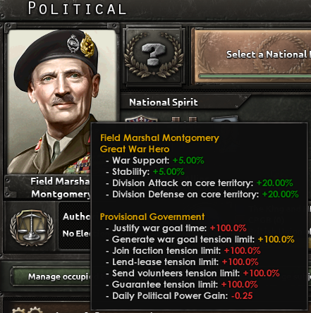 HoI4 [Mod]Party Manager 政党マネージャーで政治主義を複雑化
